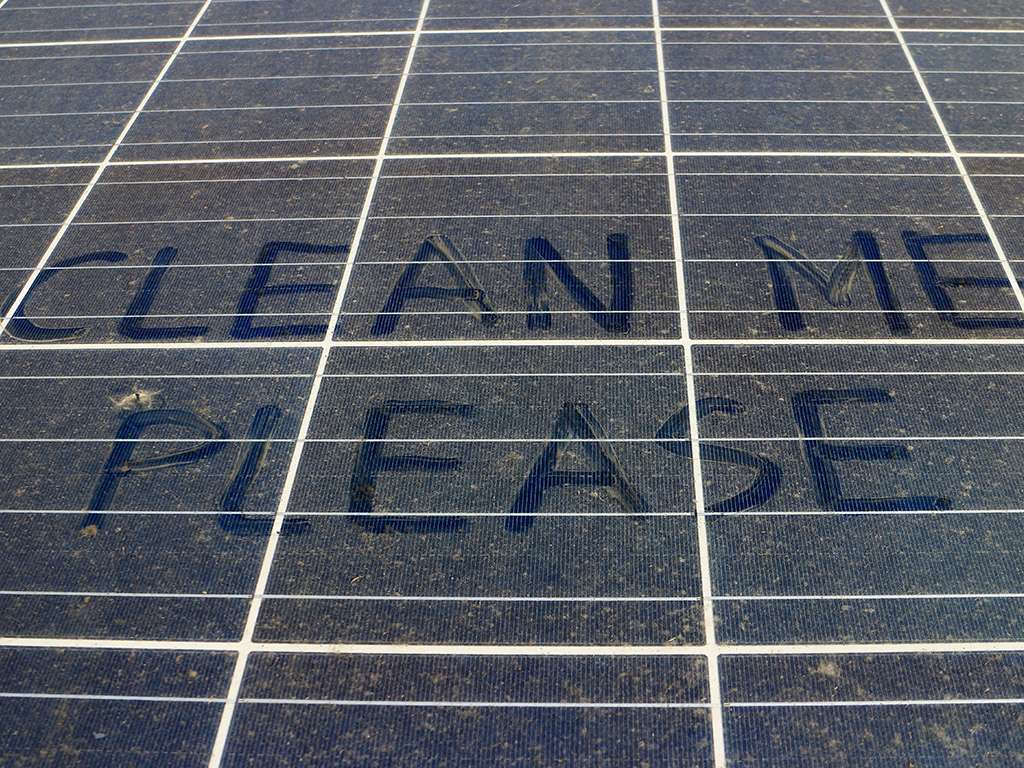 Give your solar system a clean